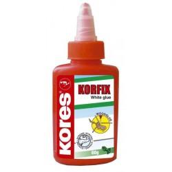 """KORES colle de bricolage """"KORFIX"""", sans solvant, 60 g, blanc"""