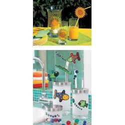 """MARABU Flacon 80 ml Peinture Window Color """"fun & fancy"""" Transparente Or scintillant"""