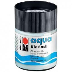 MARABU Flacon 50 ml vernis transparent Aqua, très brillant Incolore