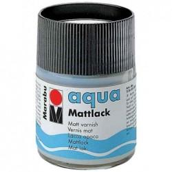 MARABU Flacon 50 ml Vernis mat Aqua Incolore