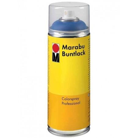 MARABU Peinture Buntlack aérosol de 400 ml Gris Foncé