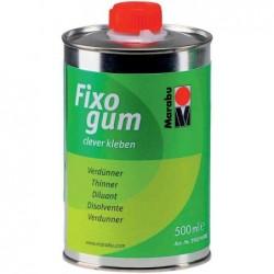 """MARABU Pot de 500 ml de dilluant """"Fixogum"""" base solvant organique"""