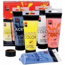 """MARABU Couleur acrylique """"AcrylColor"""", kit de démarrage,"""