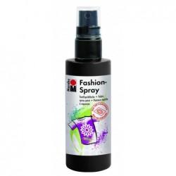 MARABU Peinture en aérosol tissu « Fashion-spray », noir, 100 ml