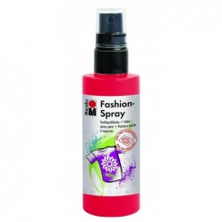 MARABU Peinture Textile en Spray « Fashion-spray » 100 ml Rouge