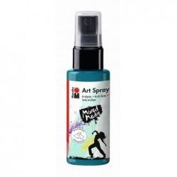 "MARABU Spray Peinture acrylique ""Art Spray"" 50 ml Bleu pétrole"