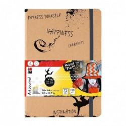 """MARABU Marabu Carnet de notes """"Art Journal"""" A4 180 g/m2 72 Feuilles"""