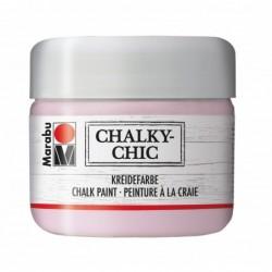 """MARABU Peinture à la craie """"Chalky-Chic"""", 225 ml Rose poudré"""