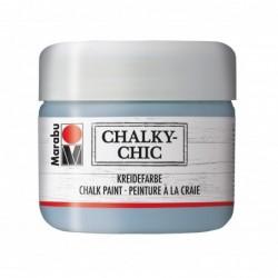 """MARABU Peinture à la craie """"Chalky-Chic"""", 225 ml Gris bleu"""