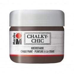 "MARABU Peinture à la craie ""Chalky-Chic"" 225 ml Cacao"