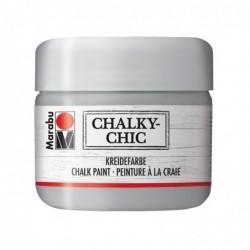 """MARABU Peinture à la craie """"Chalky-Chic"""" 225 ml Gris muraille"""