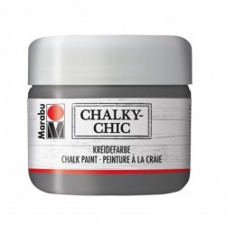 "MARABU Peinture à la craie ""Chalky-Chic"" 225 ml Ardoise"