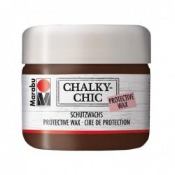"""MARABU Cire de protection """"Chalky-Chic"""" 225 ml Marron patine"""