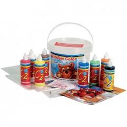 "KREUL Window Color Hobby Line ""C2""- kit Power Pack"