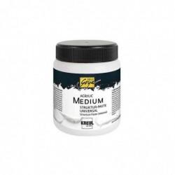 KREUL Pâte de structure SOLO Goya Universal 250 ml Blanc
