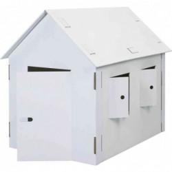 KREUL Maisonnette de jeu XXL JOYPAC à décorer carton solide Hauteur 1,10 m