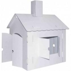 KREUL Maisonette de jeu XL JOYPAC en carton ondulé à décorer