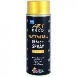KREUL Spray Peinture EFFECT Métal ART DECO 400 ml Or