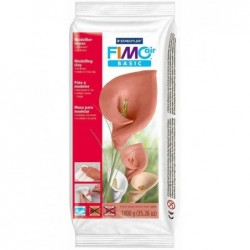 FIMO Pain 1 Kg Pâte à modeler air BASIC durcissante à l'air Coloris Chair