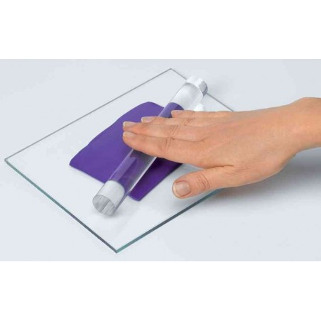 FIMO Rouleau acrylique pour étaler la pâte à modeler 20 cm
