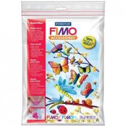 """FIMO Moule pâte à modeler 9 motifs """"papillon"""""""