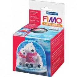 FIMO Boule de neige, rond, diamètre: 90 mm, hauteur: 75 mm