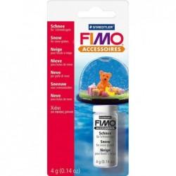 FIMO Flacon en verre de 4 g neige pour boule de neige