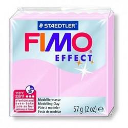 FIMO Pâte à modeler  à cuire EFFECT Pierre Précieuse Quartz Rose 56 g