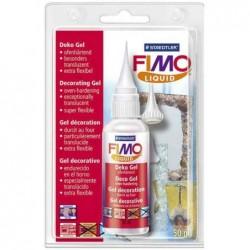 FIMO Flacon 50 ml de Gel décoratif Liquid Durcissant au Four Tranparent