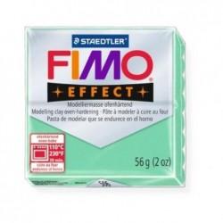 FIMO EFFECT pâte à modéler, à cuire, jade, 56 g