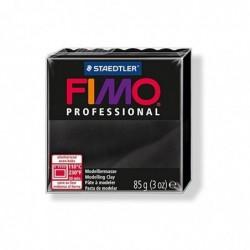 FIMO PROFESSIONAL Pâte à modeler, durcit au four, Noir, 85 g