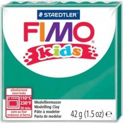 FIMO kids Pâte à modeler, durcissante au four, vert, 42 g