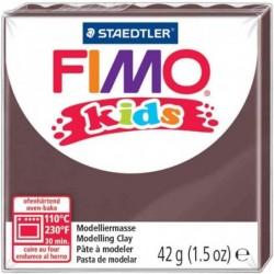 FIMO kids Pâte à modeler, durcissante au four, marron, 42 g