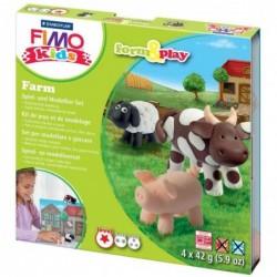 "FIMO kids Kit de modelage Form & Play ""farm"", Level 1"
