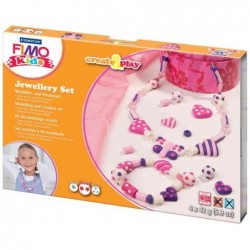 """FIMO kit de bijoux pour enfants Create & Play """"bijoux coeurs"""""""