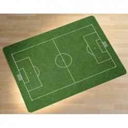 """RS OFFICE Tapis de Sol 120 x 90 cm Edition Color  """" terrain de football"""""""
