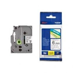 BROTHER TZe-Tape TZe-421 cassette à ruban, Largeur: 9 mm, noir / rouge