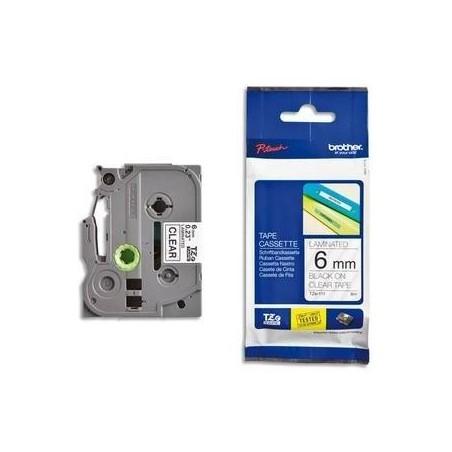 BROTHER TZe-Tape TZe-551 cassette à ruban, Largeur: 24 mm, noir / bleu