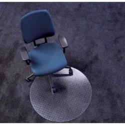 """RS OFFICE tapis de protection """"Ecoblue"""" diamètre: 900 mm PET Transparent"""