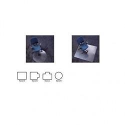 """RS OFFICE tapis de protection """"Ecoblue"""", (l)1200 x (L)750mm"""