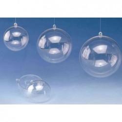 GLOREX boule en plastique, 2 pièces, diamètre: 120 mm