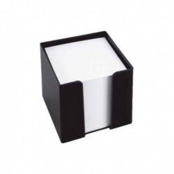 KÖNIG EBHARDT Bloc cube plastique 95 x 95 mm Env 700 Feuilles Noir