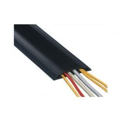 DATAFLEX Cache câble, type: 3-canaux, longueur: 3,0 m, noir