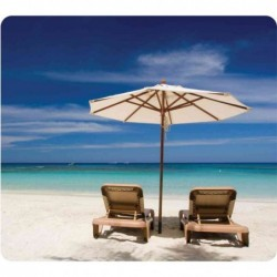 FELLOWES tapis souris EARTH, plage solitaire, rectangulaire
