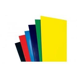 GBC Lot de 100 HiGloss Plats de couverture bleu 250 g par mètre carré