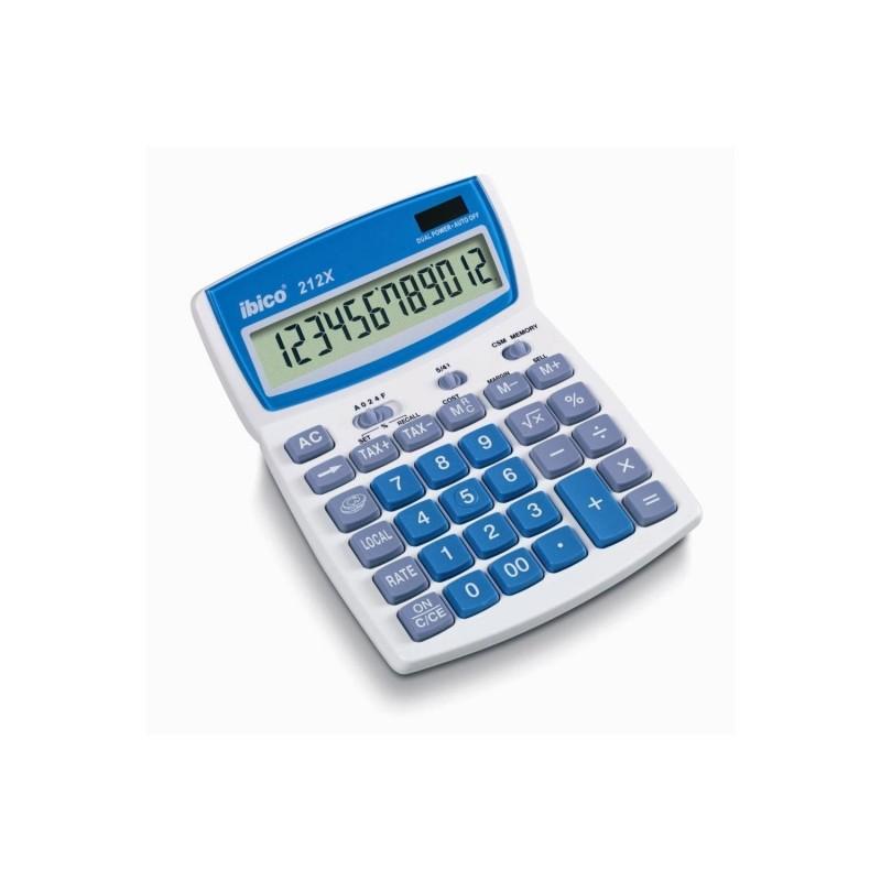 IBICO Calculatrice de bureau 212X LCD 12 Chiffres