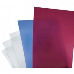 GBC Lot de 25 PolyClearView Plats de couverture 300 mic granité transparent