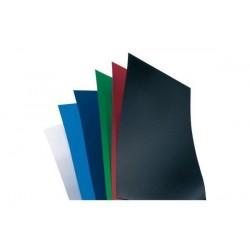 GBC Lot de 100 PolyOpaque Plats de Couverture A4 bleu foncé 300 microns