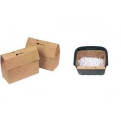 REXEL Lot de 50 Sacs poubelles recyclables 32 litres pour destructeur Mercury 32 litres