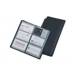 ALASSIO JÜSCHA protège-cartes de visite, en cuir synthétique noir